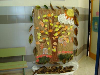 Nuestro mural del otoño