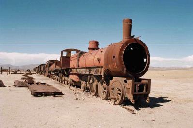 Viaje al tren minero.